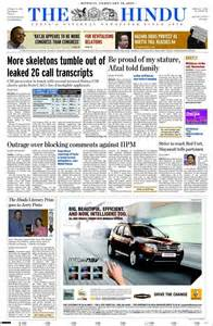 newspaper the hindu india newspapers in india today s