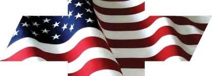 chevy bowtie american flag decal sticker ebay