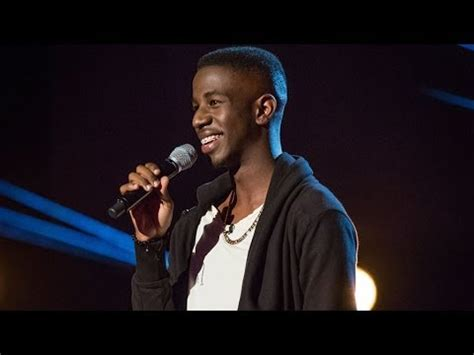 jermain jackman performs 'and i am telling you' the