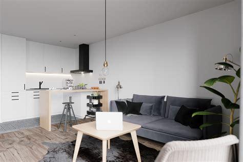 applying a scandinavian home interior design with an applying a scandinavian home interior design with an