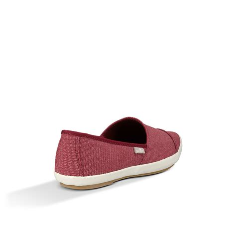 sanuk kats meow s slip on canvas shoes ebay