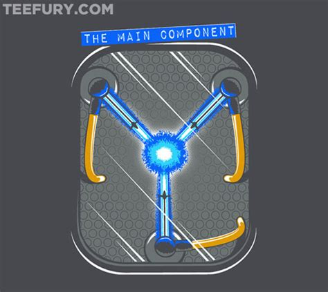 flux capacitor wars gear back to the future the component shirt