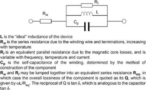 equivalent circuit of inductor 3 4 inductors engineering360