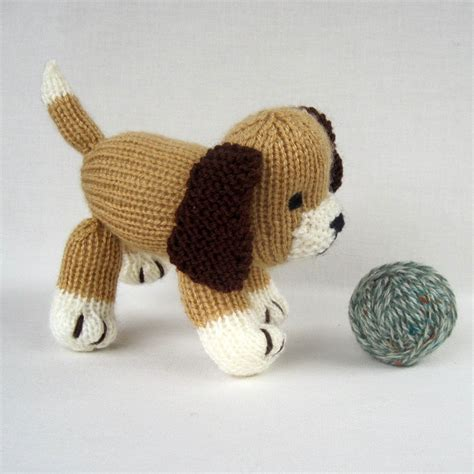knitting pattern toy dog free toys knit