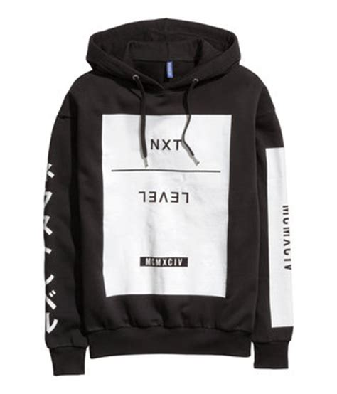 Hnm Sweatshirt With Printed Design White japanese writing shop for japanese writing on wheretoget