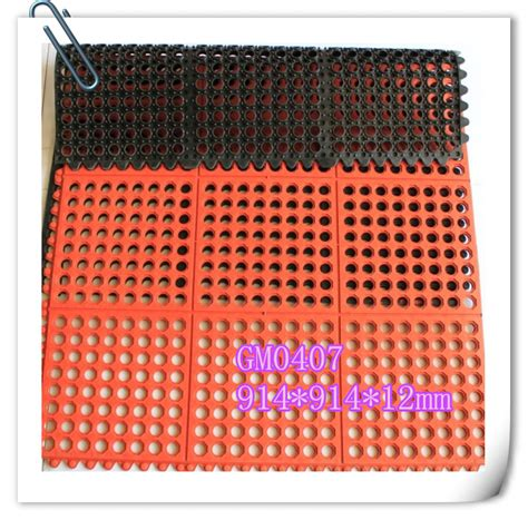 rubber mats low price anti slip indoor rubber paving