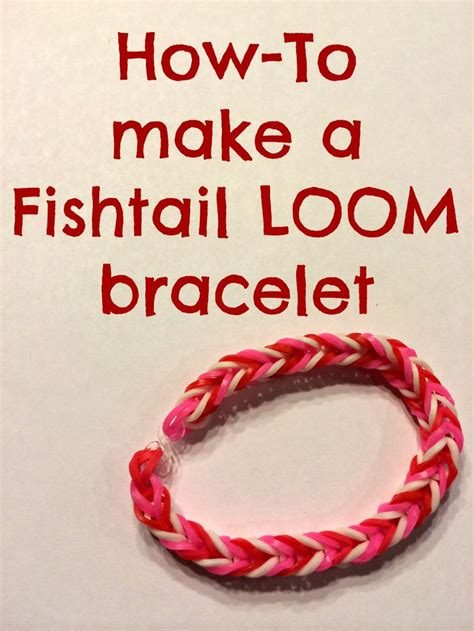 steps to show how to make fish tail favload 25 best ideas about fishtail loom bracelet on pinterest