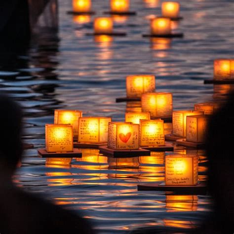 How To Make A Floating Lantern Out Of Paper - floating lantern festival at ala moana park in
