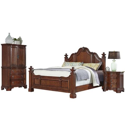 santiago bedroom furniture santiago queen bed nightstand and door chest homestyles