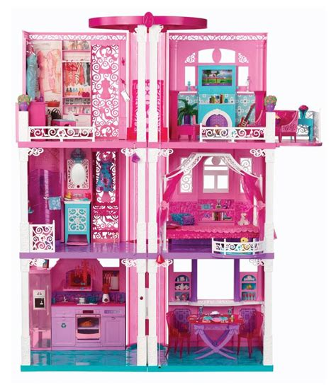 barbie dream doll house barbie dream doll house buy barbie dream doll house online at low price snapdeal