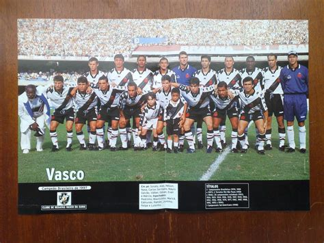 poster vasco poster vasco ce 227 o brasileiro 1997 r 20 00 em