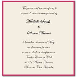 format of wedding invitation card in wedding invitation sle wording template best template collection