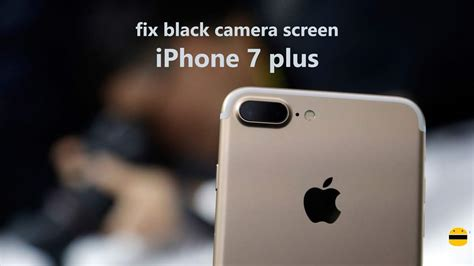 how to fix black screen on iphone 7 plus