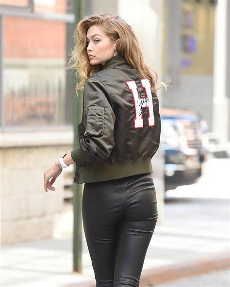 gigi hadid model gigi hadid s model pose during a photo shoot in new york