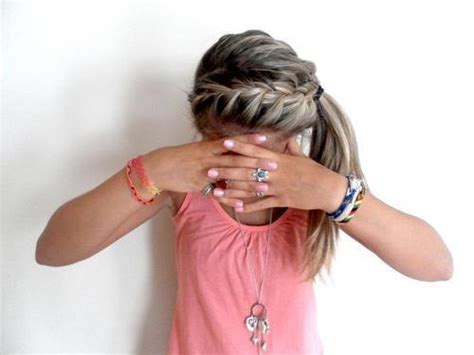 cute hairstyles for volleyball back to school 3 easy hairstyles asplashofpink