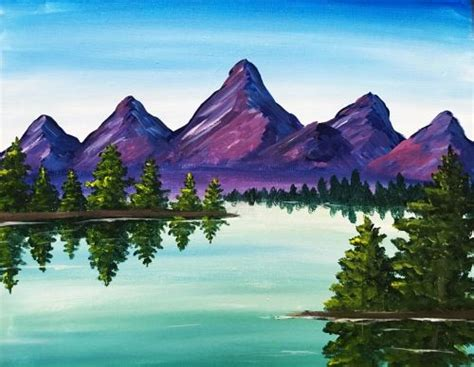 25 best ideas about mountain painting mountains druma co