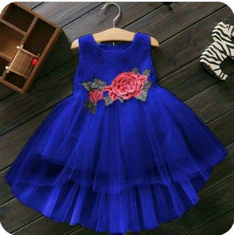 Baju Perempuan Cantik baju dress pesta anak perempuan desain cantik lucu terbaru