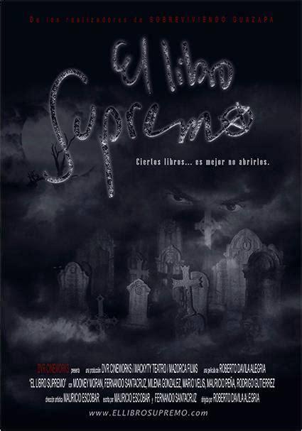 libro el don supremo el libro supremo 2013 filmaffinity