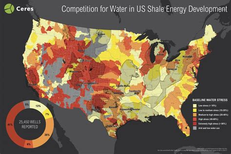 fracking map united states report half of u s fracking drilled in highly