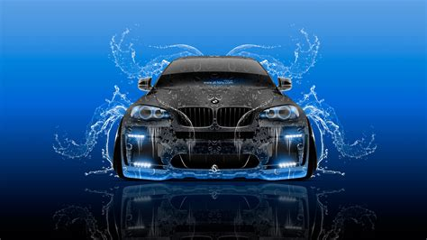 Tony Cars by Bmw X6 Tuning Front Water Splashes Car 2016 Wallpapers El