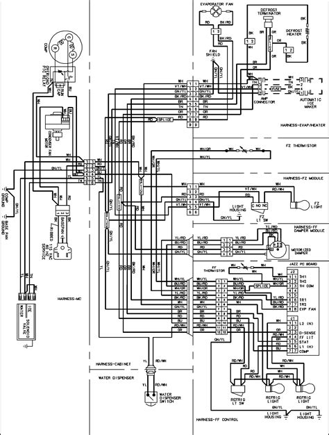 Ge Hotpoint Refrigerator Wiring Diagram For Schematic Of A