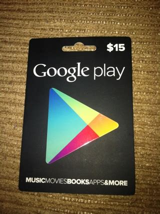 Play Store Free Gift Card - free 15 google play gift card gift cards listia com auctions for free stuff