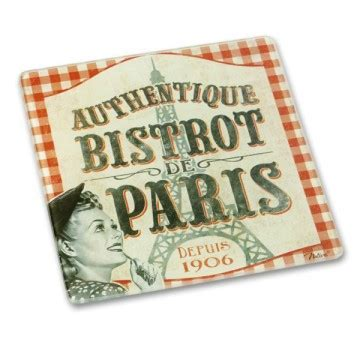Table Haute Bistrot 1675 by Dessous De Plat Quot Bistrot De Quot Natives D 233 Co R 233 Tro Et
