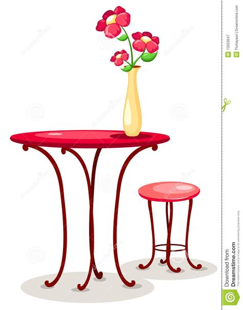 Table Flower Vase by Flower Vase On The Table Clipart Clipartsgram