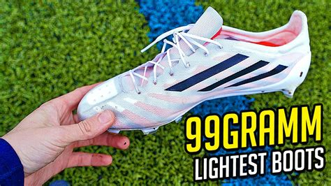 lightest football shoes 99g adidas adizero the lightest football boots