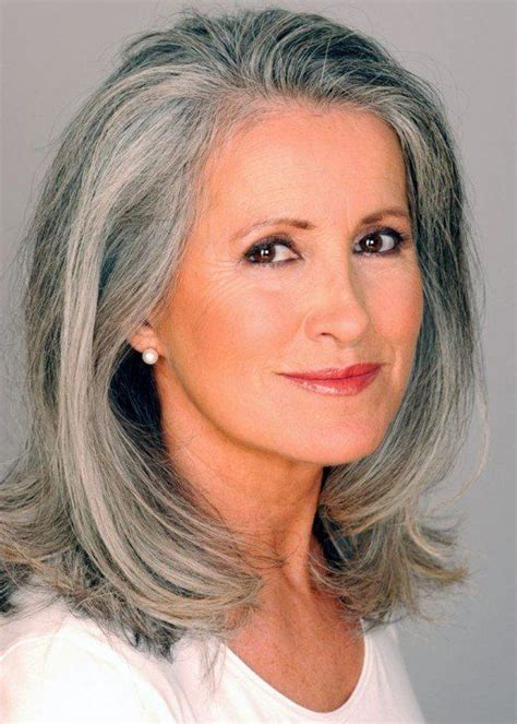 gray mid lenth hair style the silver fox stunning gray hair styles hair style