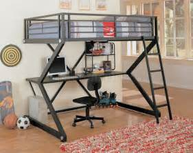 Modern Loft Bed With Desk » Ideas Home Design