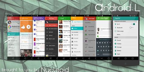 themes in android lollipop lollipop 5 0 cm11 pa theme