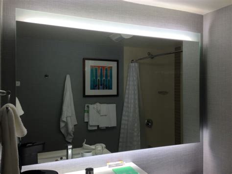 bathroom mirror with lights behind bathroom mirrors with lights above home design ideas