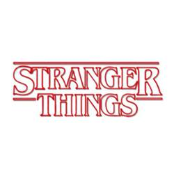 Writing Wall Stickers image stranger things logo netflix television show