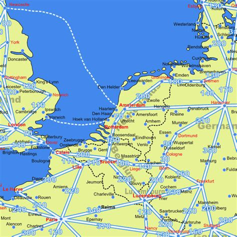 netherlands motorway map netherlands driving distance road map distances in netherlands from european drive guide