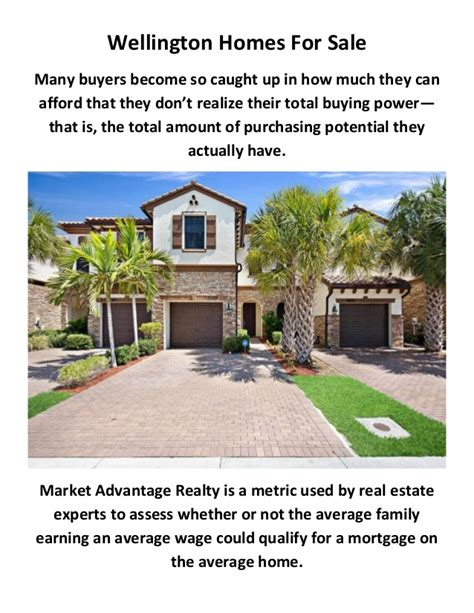 market advantage realty homes for sale in wellington fl