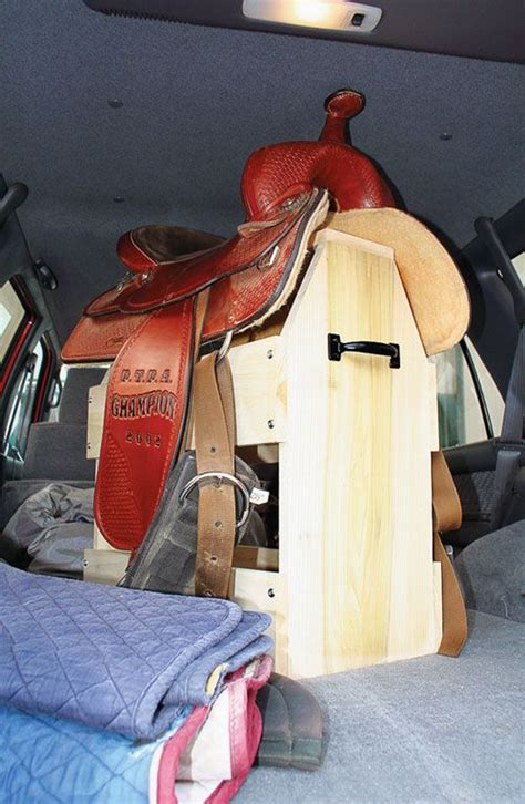 Car Saddle Rack by Don T Just Throw That Saddle In The Back Of Your Car Build