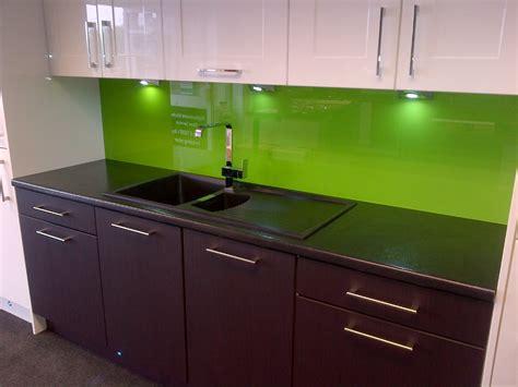 Green Kitchen Paint B Q Glasskitchensplashbacks