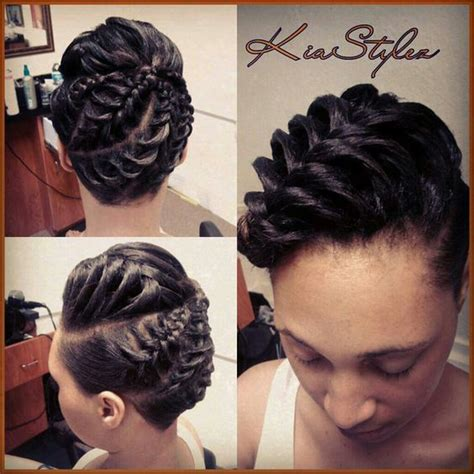 inside cornrows cornrow updo and hair on pinterest