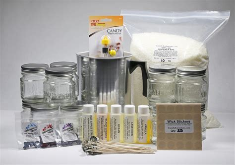 kit candele candle kits and equipment at candle soylutions