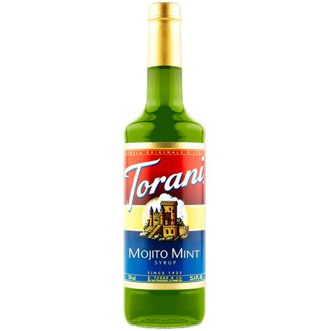 Melon Fo Syrup Sirup Mocktail Sirup Cocktail torani mojito mint syrup 750 ml bottle s