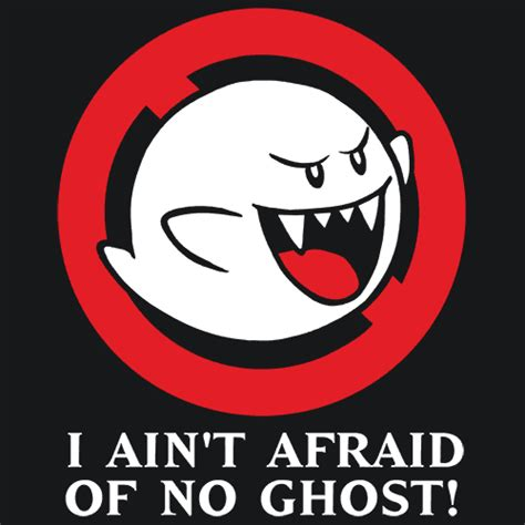 I Aint Afraid Of No Ghost Outline In Color by Ghostbusters T Shirt Mash Up Textual Tees