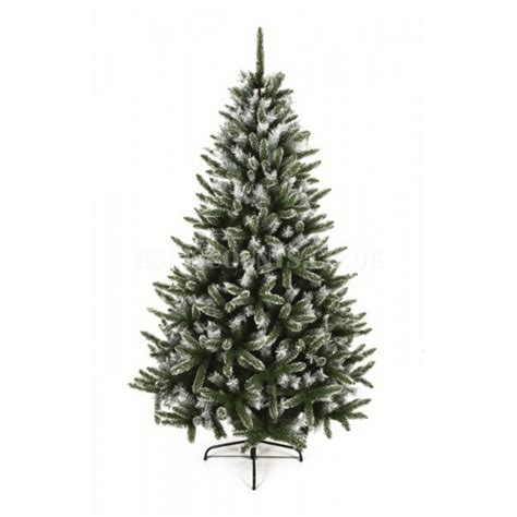 premier 1 8m snowy mountain pine christmas tree