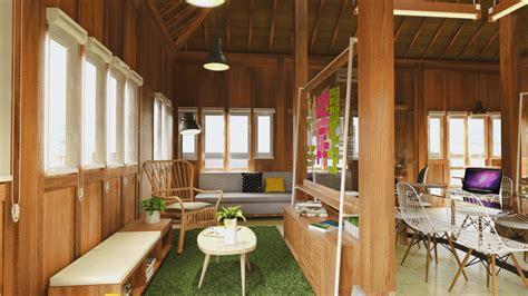 desain interior rumah studio desain interior rumah tradisional yang eksotis dan menawan