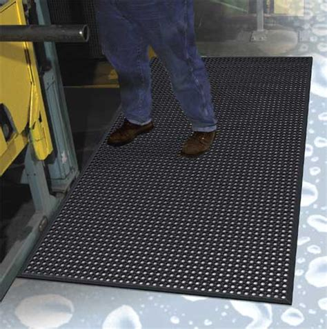 Commercial Mat Service by Work Step Commercial Kitchen Drainage Mat With Beveled Edges