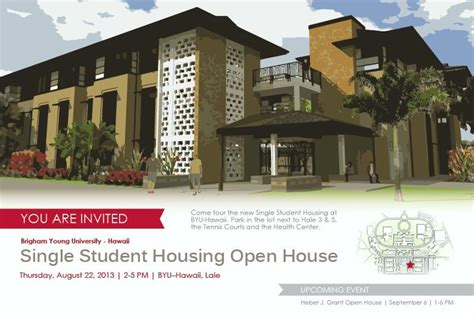Married Student Housing by Byu Hawaii Open House Talking Story About The Pcc