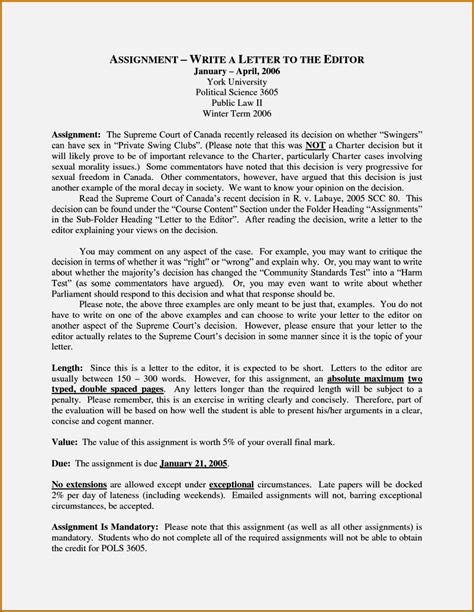 layout letter to editor exle of a great letter to the editor resume template