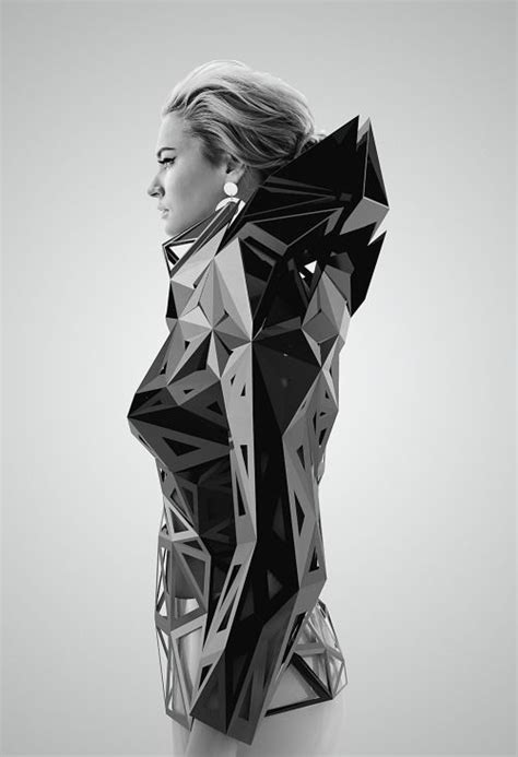 the fashion image planning and producing fashion photographs and books architectural fashion with 3d geometric structure