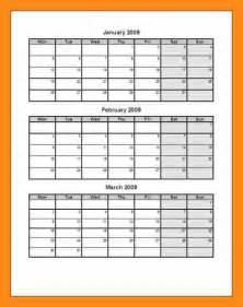 3 month calendar template 5 3 months calendar template actor resumed