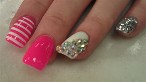 nails ideas youtube colorful youtube acrylic nails designs images nail art
